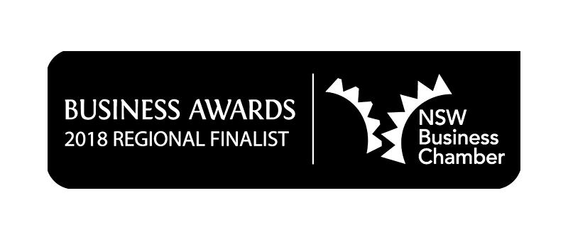 NSW Business Chamber Awards Regional Finalist