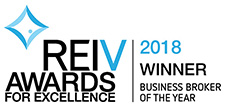 REIV Awards Winner - Business Broker of the Year