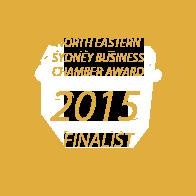 Xcllusive Business Brokers - Award 2015 Business Chamber award