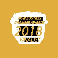 Xcllusive Business Brokers - Award 2018 Business Chamber award